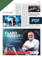 Augusto Álvarez Rodrich en TV (Perú) La Republica 4 enero 2019