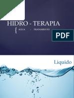 Hidroterapia Presentación