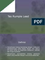 Tes Rumple Leed
