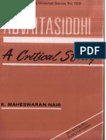 Advaita Siddhi