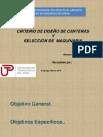 12.Criterio de Diseño de Canteras