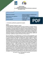 modelo de TDR para Campaña