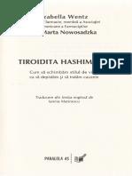 Tiroida Hashimoto - Izabella Wentz, Marta Nowosadzka