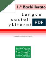 1º Bachillerato (Marea Verde)