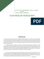Plan Anual de Trabajo 2018 i.e.10211 El Naranjo (1)