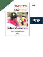34 LIBRO 34√ ORTOGRAFIA AYMARA (15.07.14) OK SI!