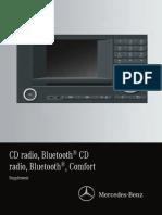 CD Radio, Bluetooth Mercedes Handbook