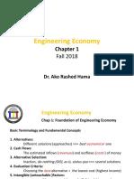 Engineering Economy ENC3310 F18 Ch1