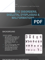 8_Genetic Disorders, Skeletal Dysplasias & Malformations