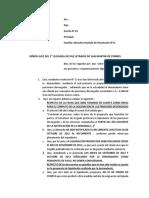 Absuelvo Traslado de Resolución N12