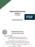 Engineering Economy ENC3310 F18 Ch5