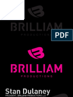 Brilliam Productions Business Cards