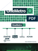 Tarifario-MediaKit 2019 OneMetro