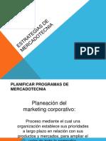 1 Planificación de Programas de Mkt
