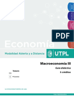 Guía Macroeconomía III
