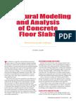 Structural Modeling Slabs CI Dec2005