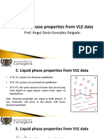 05. Properties of Liquid Phase From VLE