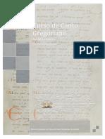 Rodrigo Felipe Fernandes - Curso de Canto Gregoriano