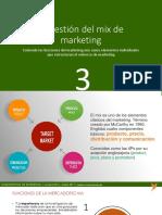 4 Gestión Del Mix de Marketing