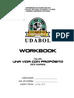 Lideres-workbook Una Vida Con Proposito