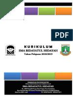 Bundel Dokumen 1 - Dokumen KTSP SMA Bidayatul Hidayah Panimbang