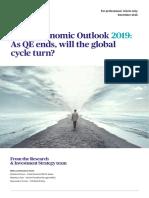 AXA Economic Outlook for 2019