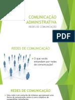 Slide 3 Redes de Comunicação