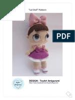 Toy Art Amigurumi Lol Surprise Doll