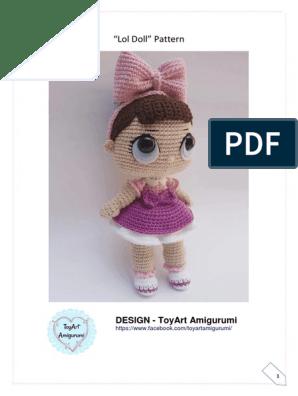 Leithygurumi: Amigurumi Emma Doll English Pattern | 396x298
