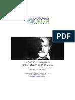 Carlos Fuentes resumen