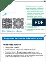 Bab 9 Teori Relativitas Khusus.ppt