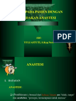 Askep Px Anastesi