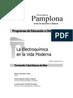 Electroquimica en La Vida Moderna