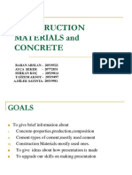 Construction Materials Concrete