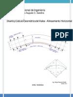 Curvas Horizontales Transiciones y Peraltes1 Converted