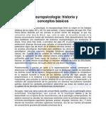 Historia y Neurospicología