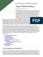 Rehberg - Stanford Encyclopedia of Philosophy - Notas
