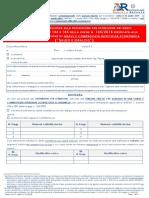 Agenzia Entrate - Modello SA ST adesione saldo e stralcio