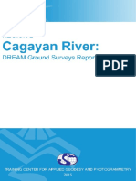 DREAM Ground Surveys for Cagayan River