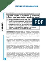 NP Convención regional PP Madrid