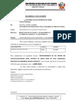 INFORME N° 102Bbbbbbbb REQUERIMIENTO DE MAQUINARIA