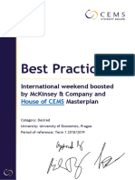 CCP DESIRED Intl Weekend Boosted by McKinsey and House of CEMS-Masterplan