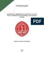 Os Direitos, Liberdades e Garantias a luz da Nossa Constituicao da Republica de Angola de 2010.pdf