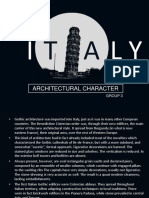 Italy Gothic Architecture (Group 3)