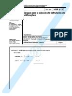 NBR-6120 - Cargas Para o Cálculo de Edificações