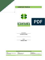 Company Profile RSU Karisma PPWIKA