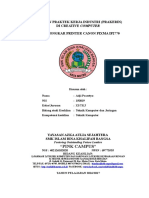 LAPORAN PRAKTEK KERJA INDUSTRI Cara Bongkar Printer Canon Pixma IP2770.doc