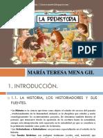 Presentación La Prehistoria 2019
