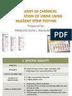 Week 2 Chemical Examination of Urine