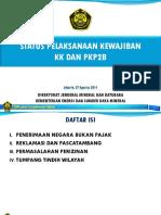 Status Pelaksanaan Kewajiban KK Dan PKP2B